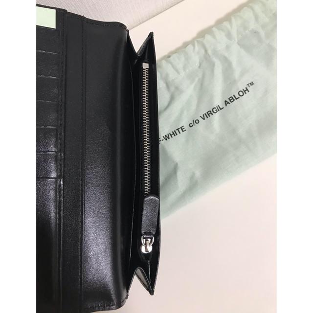 OFF-WHITE(オフホワイト)のOFF-WHITE ウォレット 財布 WALLET 長財布 新品本物 メンズのファッション小物(長財布)の商品写真