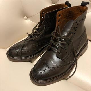 革靴 レディース メンズ 25cm(ローファー/革靴)