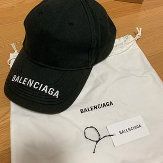 Balenciaga - Balenciaga ロゴキャップ 正規品
