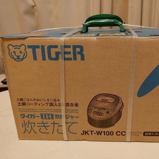 TIGER - タイガー魔法瓶(TIGER) IH炊飯ジャー 5.5合炊き JKT-W100