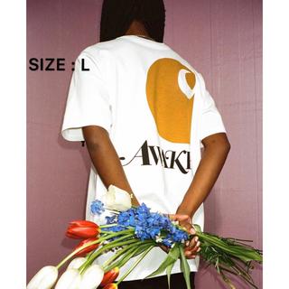 AWAKE - AWAKE NY carhartt wip Tシャツ Lサイズ ホワイト
