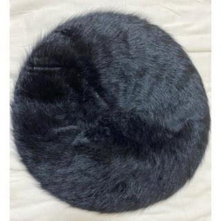 【新品未使用】CECIL McBEE ファー ベレー帽