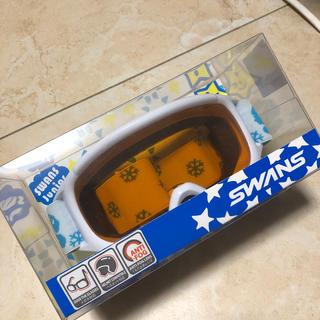 スワンズ(SWANS)のSWANS スノーゴーグルメガネ対応 ジュニア用(ウエア/装備)