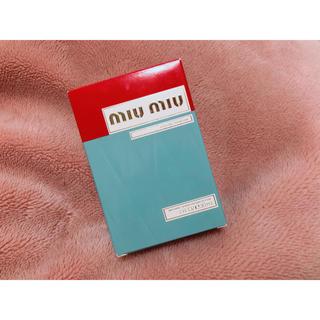 miumiu - miumiu 新品未使用 オードパルファム 30ml
