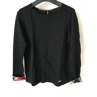 ブラックレーベルクレストブリッジ(BLACK LABEL CRESTBRIDGE)の美品 クレストブリッジ カットソー トップス(カットソー(長袖/七分))
