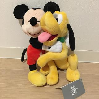 Disney - プルート☆ミッキー☆ハグぬいぐるみ