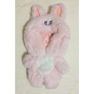 20cm ぬいぐるみ 服 ふわふわ 着ぐるみ ウサギ