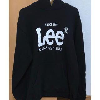Lee - Lee メンズパーカー ブラック