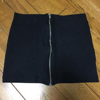 H&M - H&M フロントファスナー タイトスカート