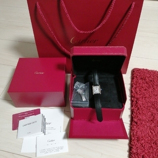 Cartier - 新品未使用品 カルティエ タンクソロSM WSTA0030 レディース 腕時計
