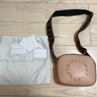 ステラマッカートニー(Stella McCartney)のステラマッカートニー ロゴ ミニ バッグ ベージュ(ショルダーバッグ)