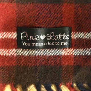 ピンクラテ(PINK-latte)のpink-latte  赤マフラー(マフラー/ストール)