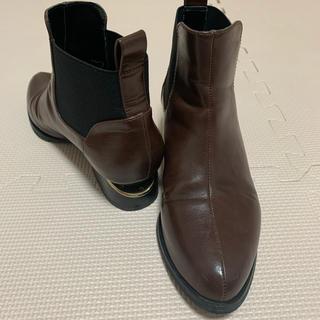エスペランサ(ESPERANZA)のESPERANZA サイドゴアブーツ Sサイズ(ブーツ)