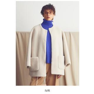 Mila Owen - Mila owen ノーカラーシャツカーブボアジャケット