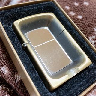 ジッポー(ZIPPO)のジッポー ZIPPO型灰皿 Special aslitray 超レア ゴールド(タバコグッズ)