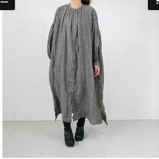 nest Robe - ユニヴァーサルティシュ リネングレンチェック ドレス