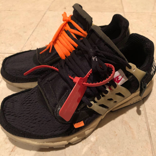 NIKE - NIKE  off white air presto ナイキ エアプレスト