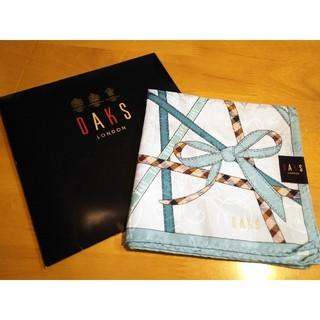 ダックス(DAKS)の<新品/未使用> DAKS ハンカチ(水色)(ハンカチ)