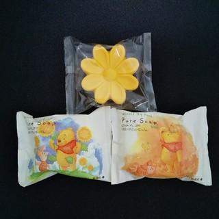 Disney - くまのプーさん 石鹸3個セット ディズニー ソープ