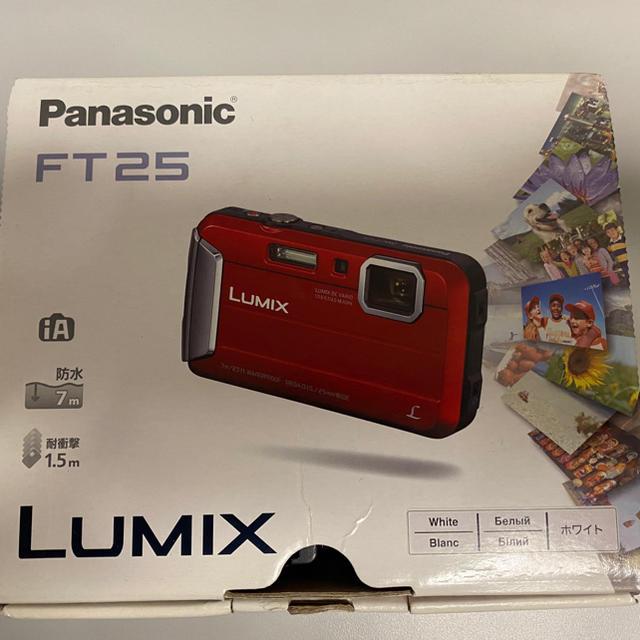 Panasonic(パナソニック)のPanasonic DMC-FT25-W [LUMIX(ルミックス) ホワイト] スマホ/家電/カメラのカメラ(コンパクトデジタルカメラ)の商品写真