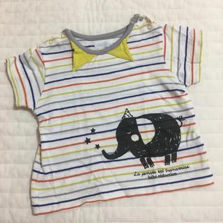 BeBe - べべ 半袖Tシャツ 80