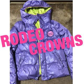 ロデオクラウンズ(RODEO CROWNS)のRodeo Crowns ジップアップ ダウン パーカー(ダウンジャケット)