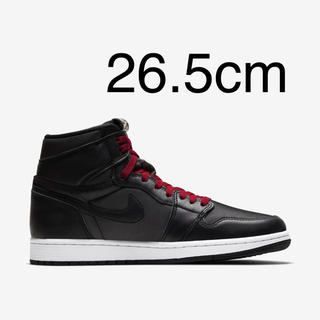 NIKE - NIKE   Air Jordan 1 Retro High OG Black
