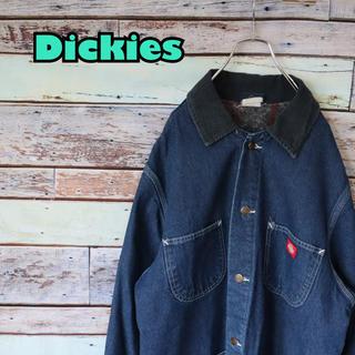 Dickies - ディッキーズ デニムシャツ カバーオール デニムジャケット L