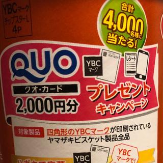 クオカード2000円プレゼント応募券(その他)