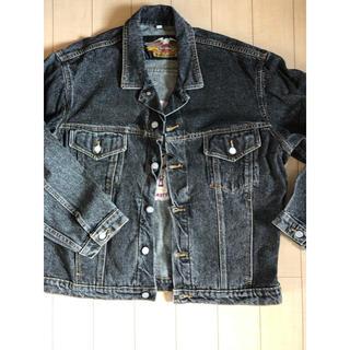 ハーレーダビッドソン(Harley Davidson)のハーレージーンズジャケット アメリカ製 XL(Gジャン/デニムジャケット)