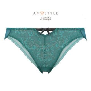 AMO'S STYLE - Triumph AMO'S STYLE ホリデーコレクションショーツL グリーン