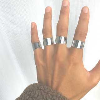 4連リング typeB オープン 指輪 メンズ レディース 韓国 マルジェラ