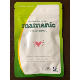 ママニック 葉酸サプリ  124粒