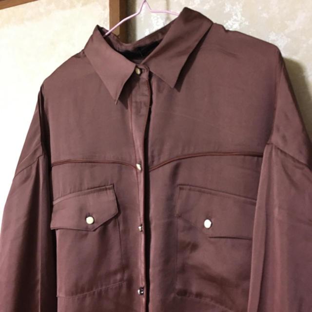 w closet(ダブルクローゼット)のシャツ(最終値下げ)2/22まで レディースのトップス(シャツ/ブラウス(長袖/七分))の商品写真