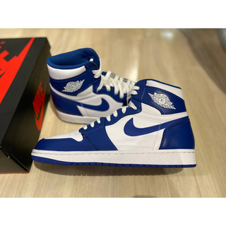NIKE - 新品 27.5cm Air Jordan1 storme blue