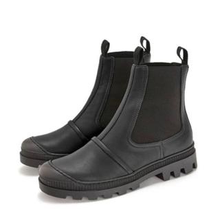 LOEWE - ロエベ  チェルシー ブーツ  LOEWE boots ブラック 37