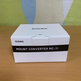 シグマ(SIGMA)のSIGMA MC-11(ミラーレス一眼)