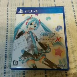 PlayStation4 - 初音ミク -プロジェクト ディーヴァ- X HD PS4