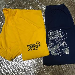 ポケモン(ポケモン)のパジャマ 100 ポケットモンスター ピカチュウ 三点セット(パジャマ)