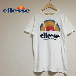 エレッセ(ellesse)のエレッセ ビックロゴ Tシャツ メンズ 90s ビッグシルエット 半袖(Tシャツ/カットソー(半袖/袖なし))
