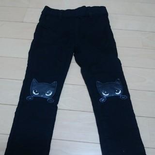 H&M - H&M黒猫パンツ90美品