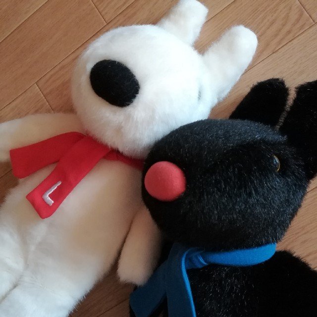 リサとガスパール ぬいぐるみセット エンタメ/ホビーのおもちゃ/ぬいぐるみ(ぬいぐるみ)の商品写真