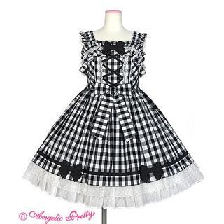 Angelic Pretty - 新品・未使用 おすましdollギンガムジャンパースカート