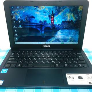 エイスース(ASUS)の☆お洒落☆準美品☆小型軽量・薄型 VivoBookシリーズ SSD120G(ノートPC)