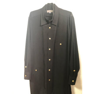 Yohji Yamamoto - ヨウジヤマモト19aw金ボタンシャツ