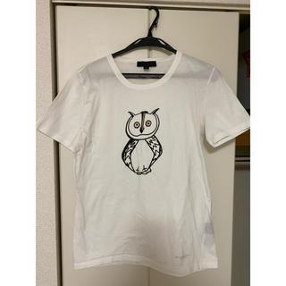BURBERRY - バーバリープローサム フクロウプリントTシャツ M ホワイト