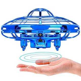 青Powerbeast ドローン ラジコン ミニドローン ジェスチャー制御 自動