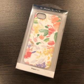 Francfranc - 【新品】フランフラン iPhoneケース 花 フラワー
