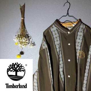 ティンバーランド(Timberland)のtimberland ティンバーランド メキシカンシャツ 胸ロゴ ロゴ刺繍(シャツ)