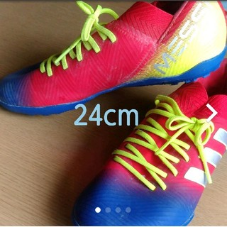 adidas - アディダス adidas ジュニア サッカー トレーニングシューズ ネメシスメッ
